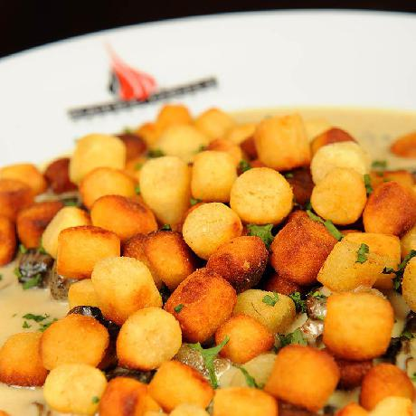 Fried gnocchi